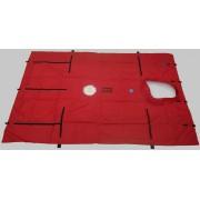 BlowerDoor-doek (groot) voor 1 ventilator