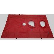 BlowerDoor-doek (groot) voor 2 ventilator