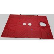 BlowerDoor-doek (groot) voor 1 ventilator en 1 MiniFan