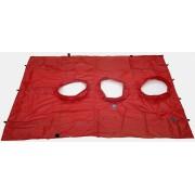 BlowerDoor-doek (groot) voor 3 ventilator